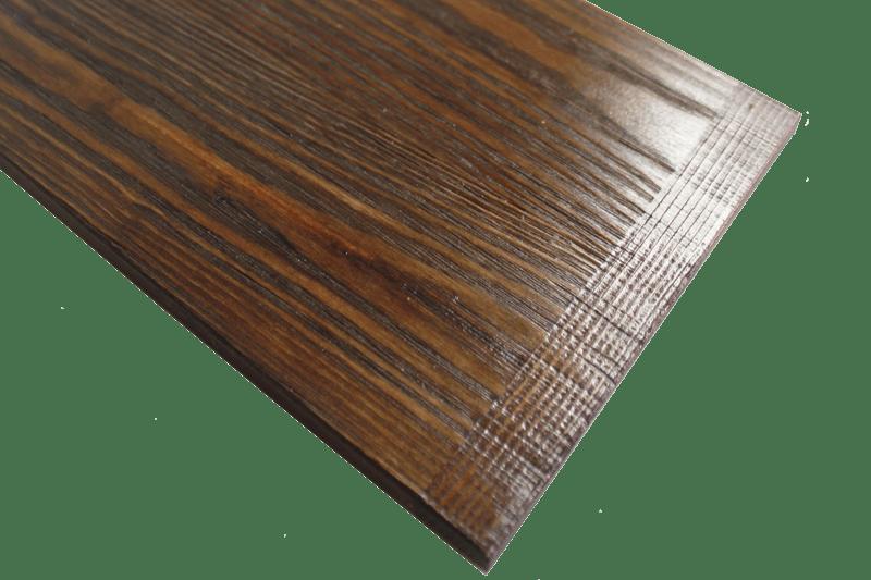 Klemmbrett Holz Vintage Details
