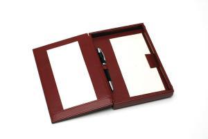 Standard Rechnungsbox 130x230mm aus PU Leder