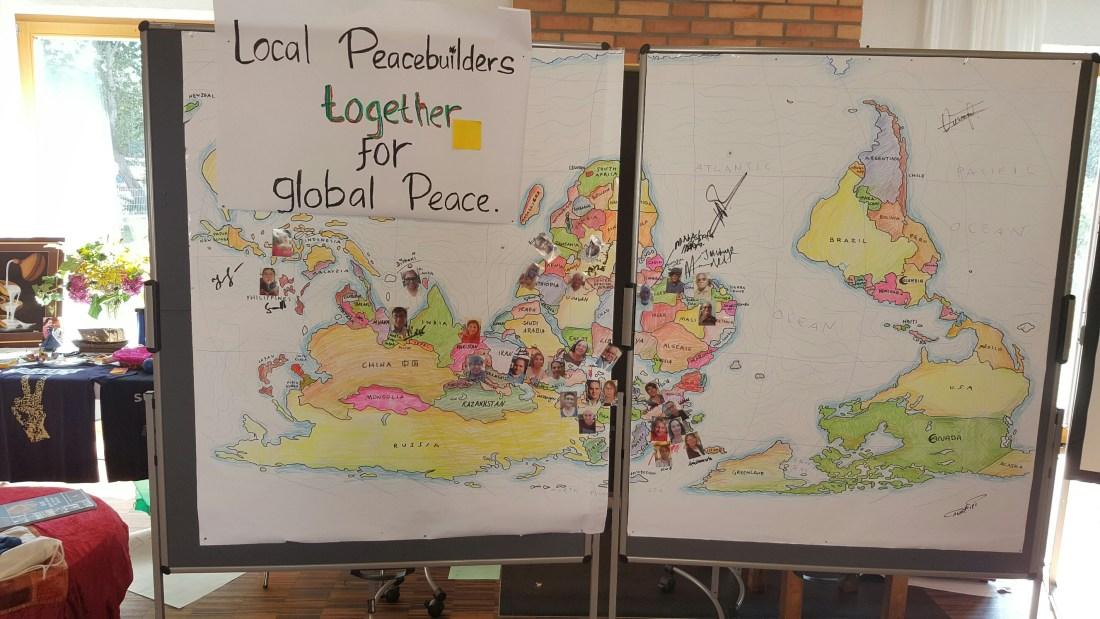 Global Peacebuilder Summit graphic