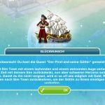 Quest Der Pirat und seine Göttin abgeschlossen