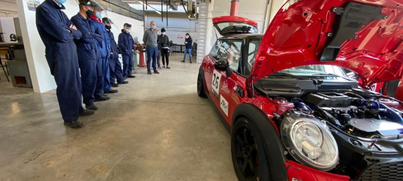Una Masterclass sulla preparazione delle auto da competizione al CPFP Ivan Rossi di Civita Castellana