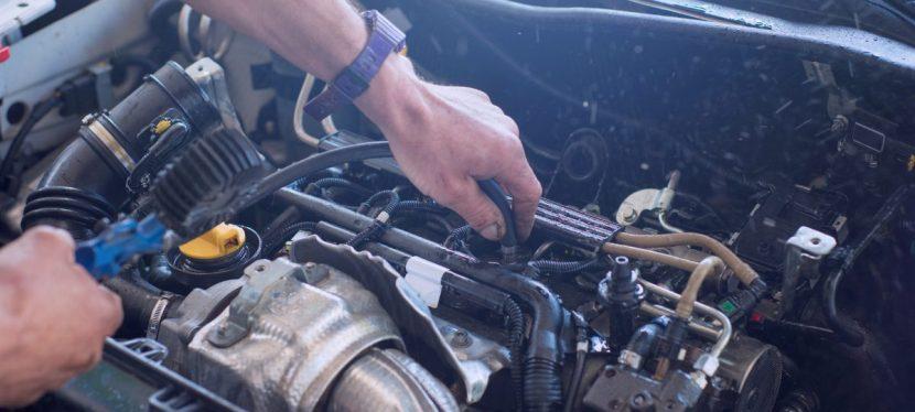 Struttura del motore auto