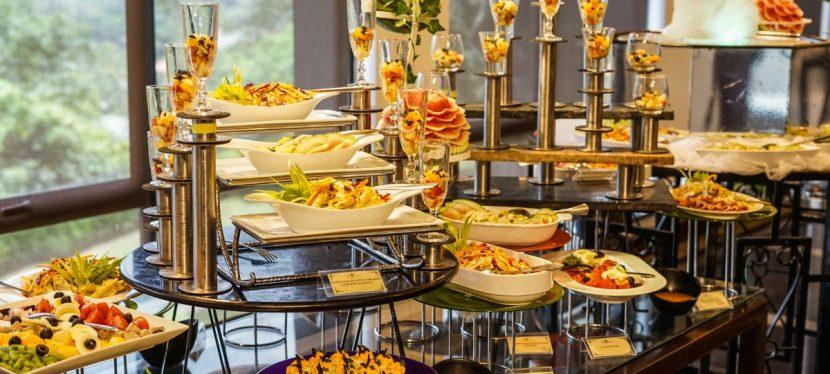 Preparazione del buffet