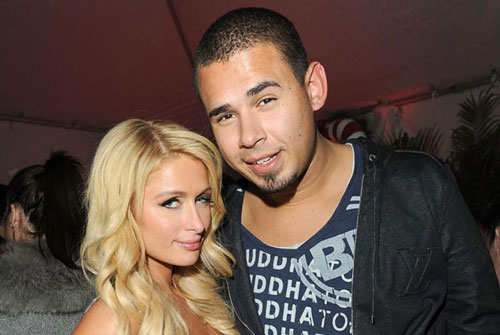 Afrojack-and-Paris-Hilton