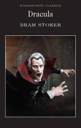 Dracula, by Bram Stoker book cover