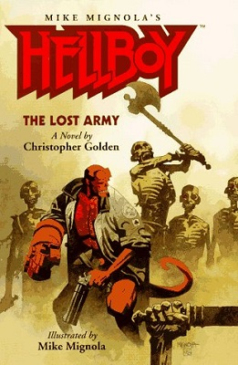 Hellboy: The Lost Army, by Christopher Golden