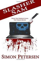 Slasher Sam, by Simon Petersen book cover
