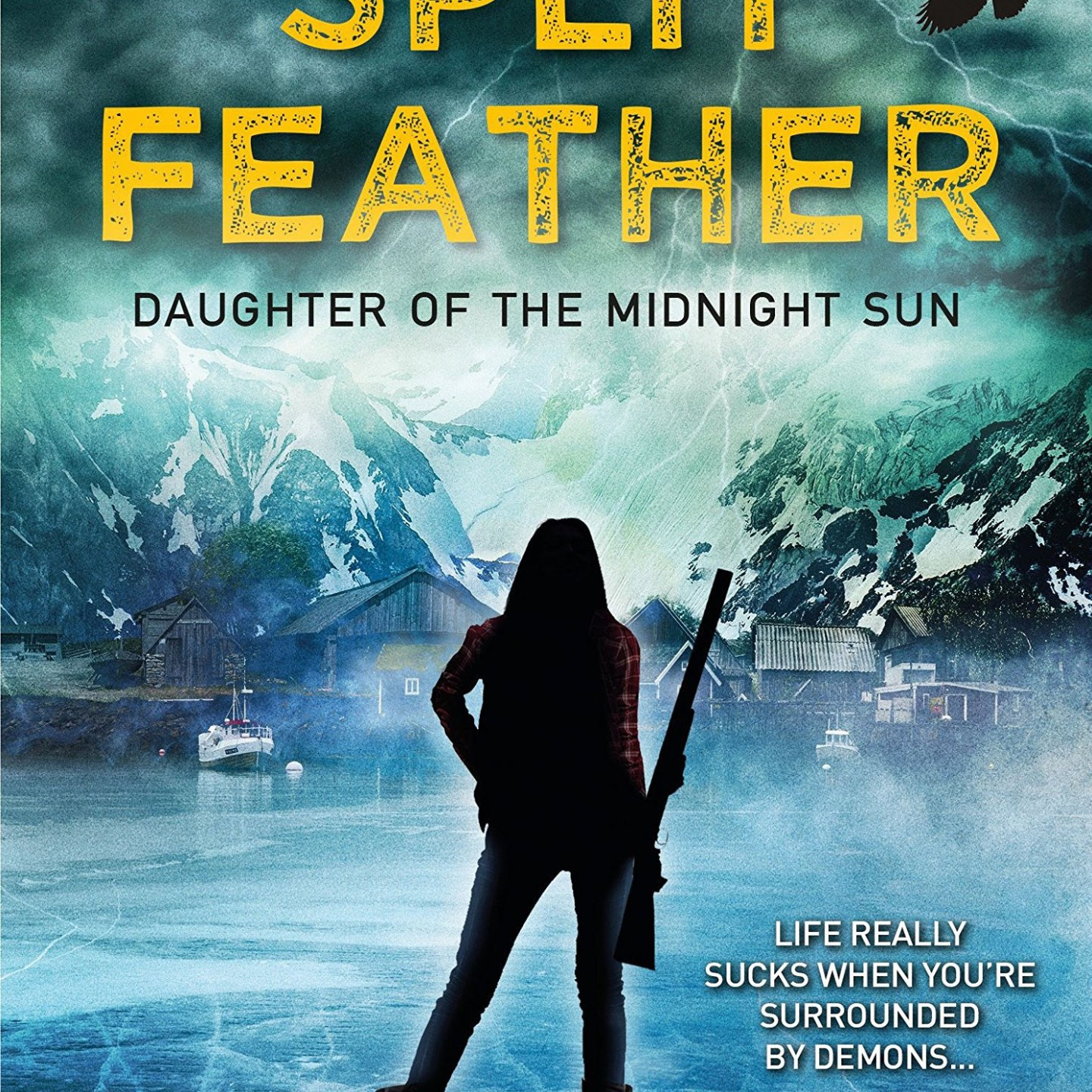 Split Feather, by Deborah A. Wolf
