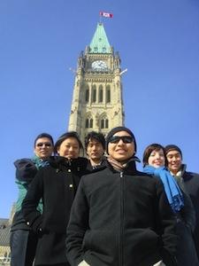 SFT Canada Lobby Team 2011