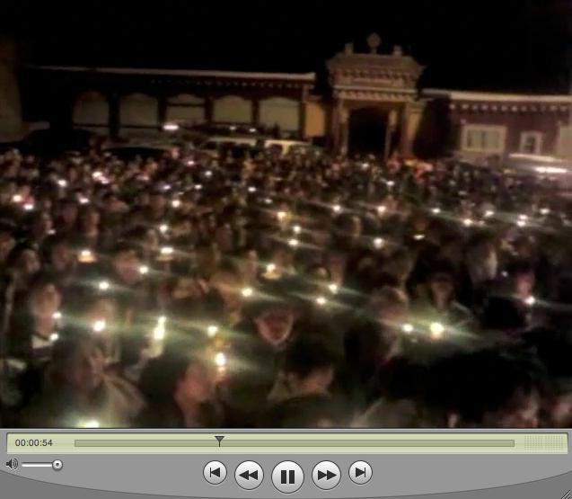 tawu candlelight vigil
