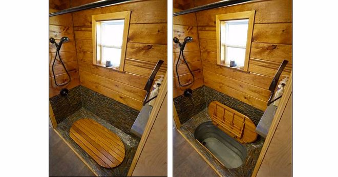 tiny house with bathroom for sale