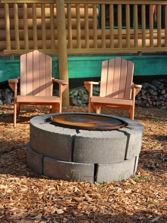 Don't toss out the old cement block. Here are 10 fantastic ... on Diy Cinder Block Fireplace id=17082