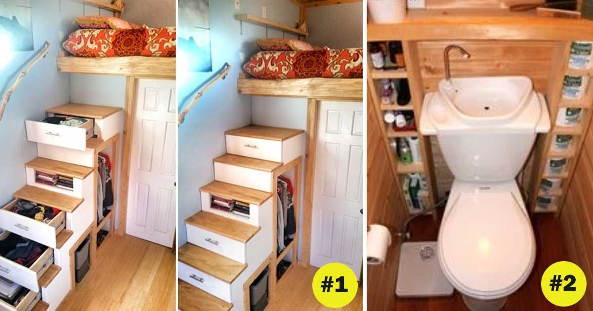 17 Super Clever Storage Ideas For Your Tiny Home