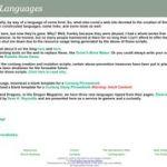 Fantasist.net Phrasebooks