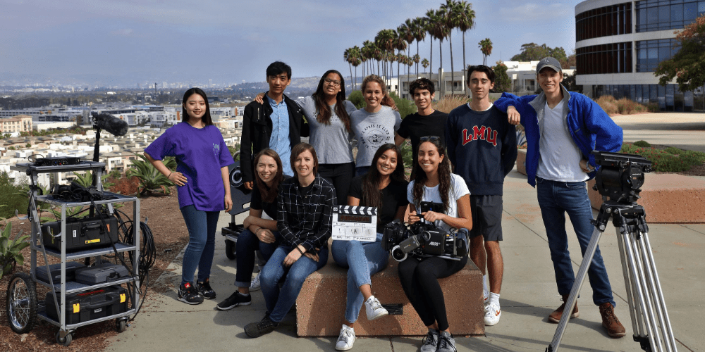 happy grad students top 10 photo - School of Film and Television Ranked 7th in the U.S. by The Hollywood Reporter