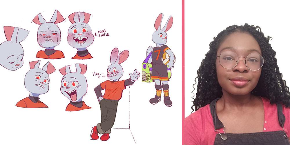 Christina - Christina Oyebade '22 Awarded 2020-2021 Women In Animation Scholarship