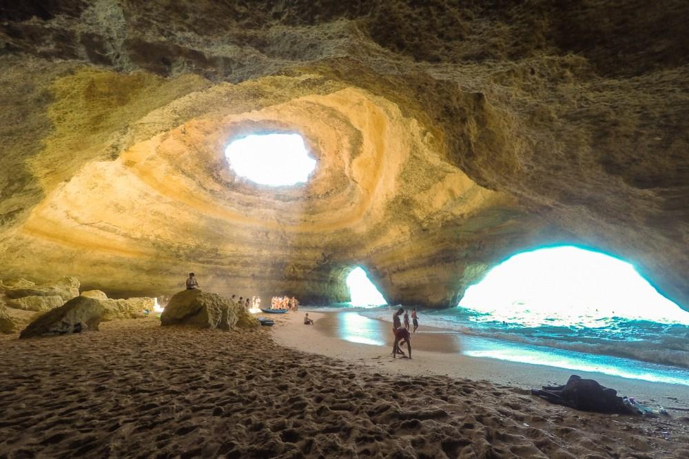 Benagil Sea Cave GoPro