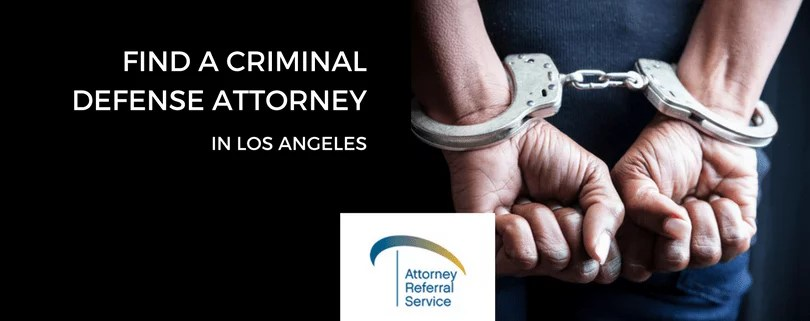 Find a criminal defense attorney in los angeles