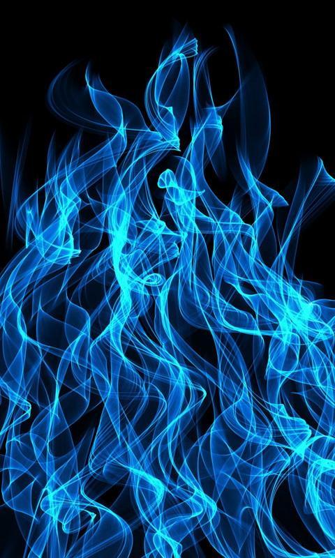 Blue flames wallpaper SF Wallpaper
