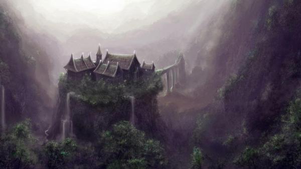 Fantasy world wallpaper SF Wallpaper