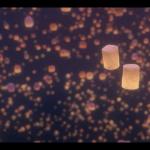 Tangled Lanterns Wallpaper Sf Wallpaper