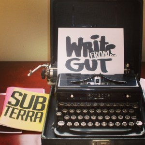 Write from the Gut!!!!
