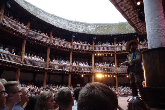 London (15-21 July 2017): Shakespeare's Globe Theatre