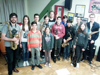 Saxophon- und Improvisationsworkshop mit Sandi Kuhn