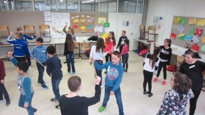 Februar 2017 | Macht Spaß und ist gut für die Klassengemeinschaft: Theatertage für die 5. Klassen am SG
