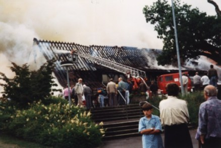 Brand am 21. Juni 1993