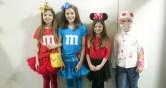 02.02.2018: Die Gewinner des Kostüm-Wettbewerbs beim Unterstufenfasching
