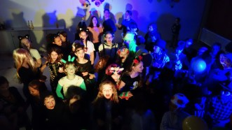02.02.2018: Die Schülerinnen und Schüler der SMV haben eine super Faschingsparty für die Unterstufe organisiert