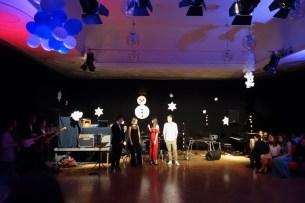 02.02.2018: Festliche Begrüßung zum Winterball durch die Organisatoren der SMV