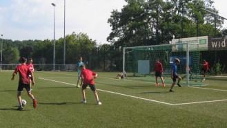 """17.-19.07.2018: Teilnehmer des Projekts """"Fußball im Freien"""" in Aktion"""