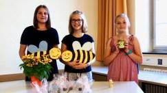 24.07.2018: Bienen, Blumensamen, Honig und Wax — Teilnehmer des Bienenprojekts stellen ihre Ergebnisse vor