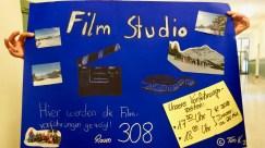 24.07.2018: Selbstgemachte Filme vom Schullandheim auf dem Schulfest