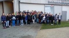 09.-17.12.2018: Gemeinsamer Besuch des Reichsparteitagsgeländes in Nürnberg im Rahmen des Schüleraustauschs mit Saint-Lô