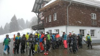 24.02.-01.03.2019: Schneetreiben vor dem Bergheim