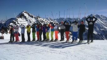 24.02.-01.03.2019: Gipfelbild aus dem Skischullandheim