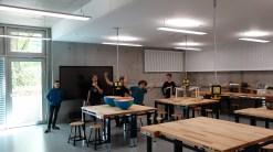 15.05.2019: Begeisterte Techniker im neuen NWT-Raum