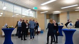 15.05.2019: Im Foyer des neuen Fachbaus