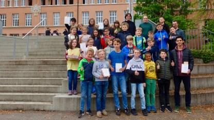 29.05.2019: Große Sprünge in Mathe — Beim Känguru-Mathewettbewerb haben alle 39 Teilnehmer gewonnen!