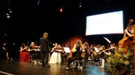 20.07.2019: Das Orchester eröffnet den Abiball