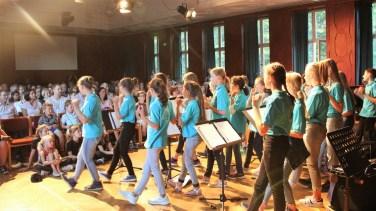 16.07.2019: Sommerkonzert der Musikensembles des SG (hier die SG Voices)