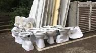 02.09.2020: Wir freuen uns, dass die Arbeiten für die neuen Toilettenanlagen im vollen Gange sind.