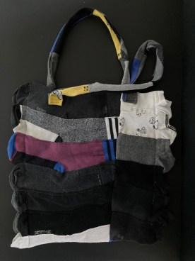 Tasche aus Socken