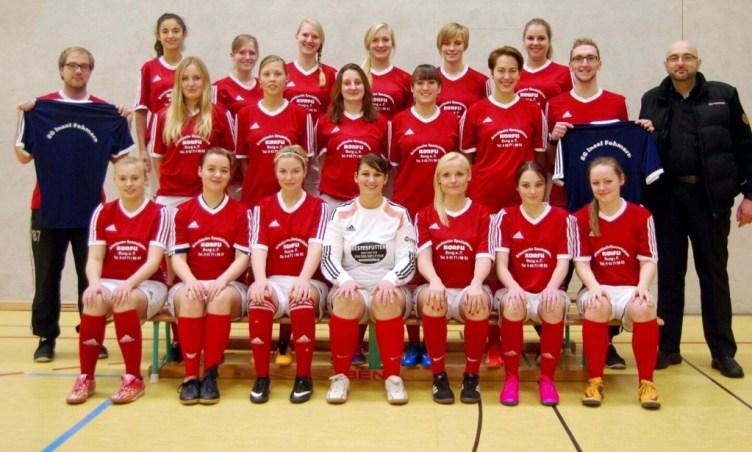 Mannschaftsfoto der SG Insel Fehmarn - Frauenfußball - Saison 2015/2016
