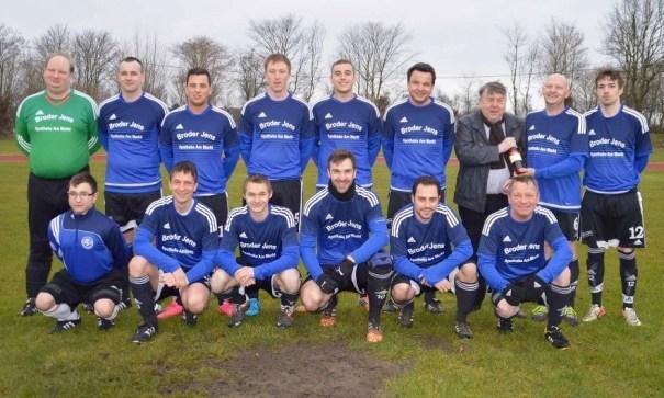 Mannschaftsfoto der SG Insel Fehmarn IV - Saison 2015/2016