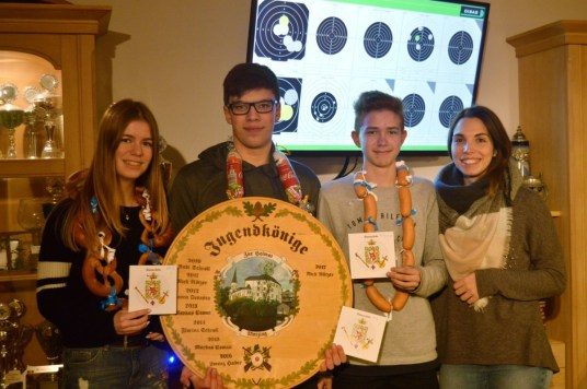 Jugend-Schützenkönige 2017/18