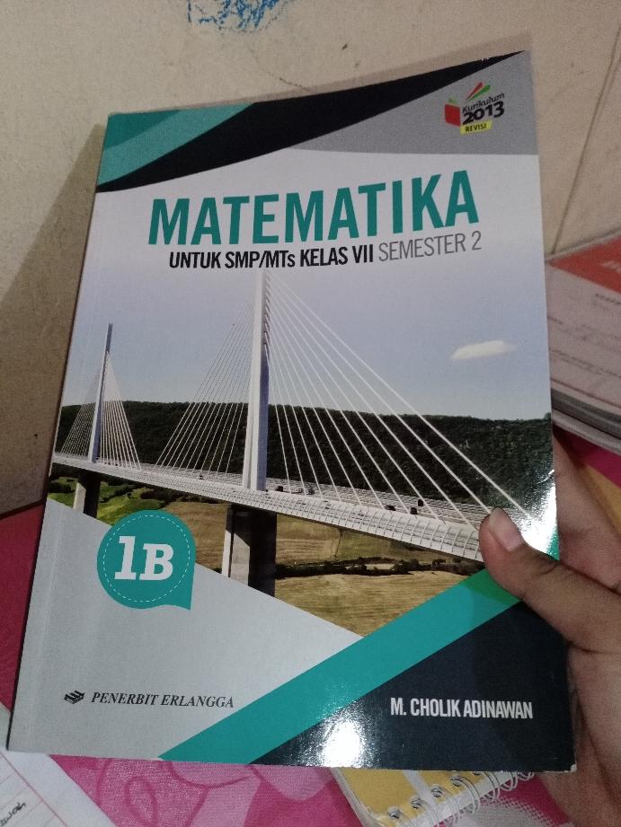 Buku matematika kelas 10 kurikulum 2013 revisi 2018 pdf. Download Buku Matematika Kelas 7 Jilid 1b Penerbit Erlangga Info Terkait Buku